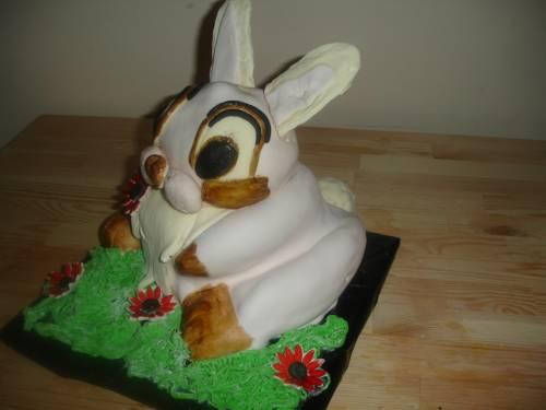 Зайчонок торт фото